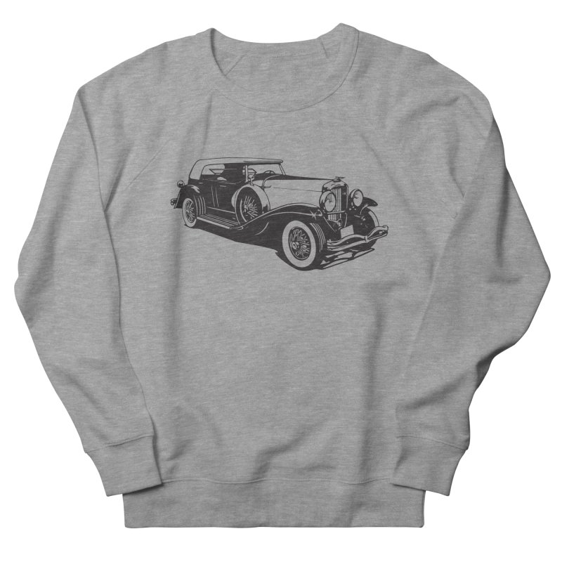 The Duesenberg Women's French Terry Sweatshirt by Midnight Studio