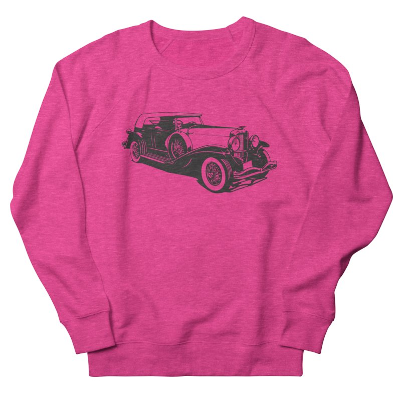 The Duesenberg Women's French Terry Sweatshirt by Midnight Studio