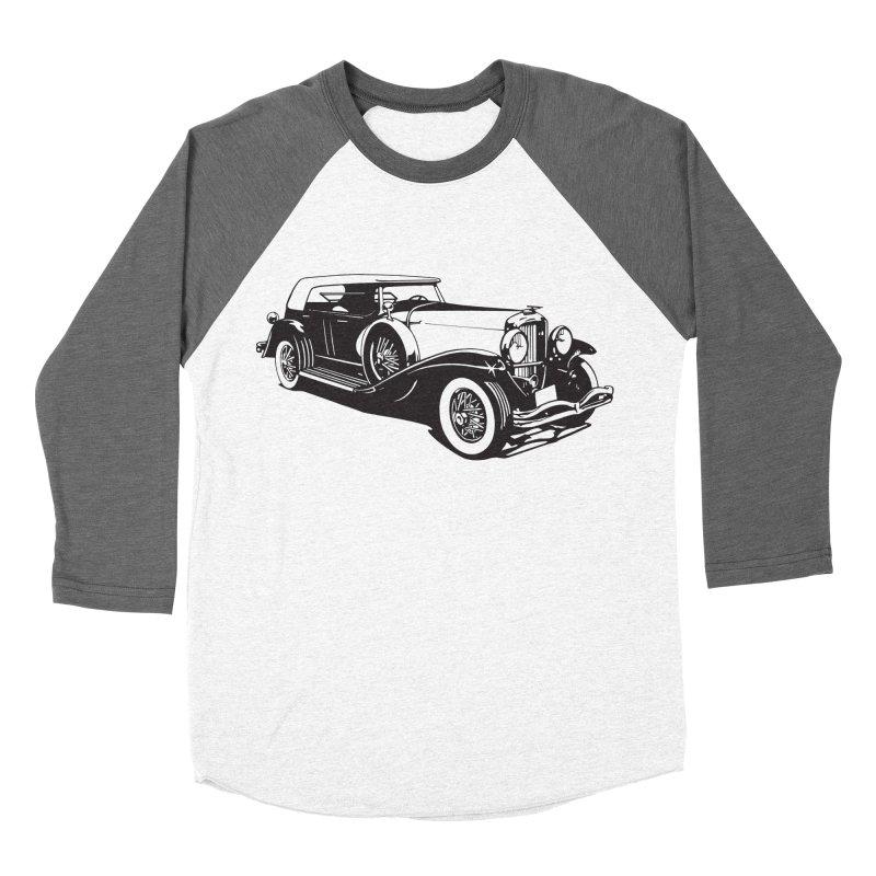 The Duesenberg Men's Baseball Triblend Longsleeve T-Shirt by Midnight Studio