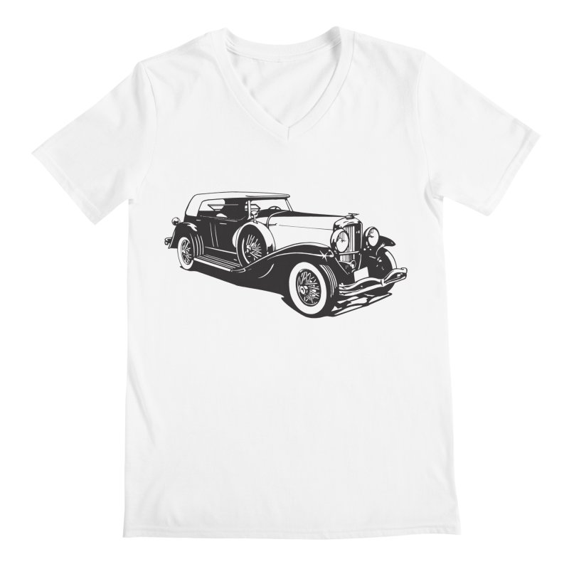 The Duesenberg Men's V-Neck by Midnight Studio