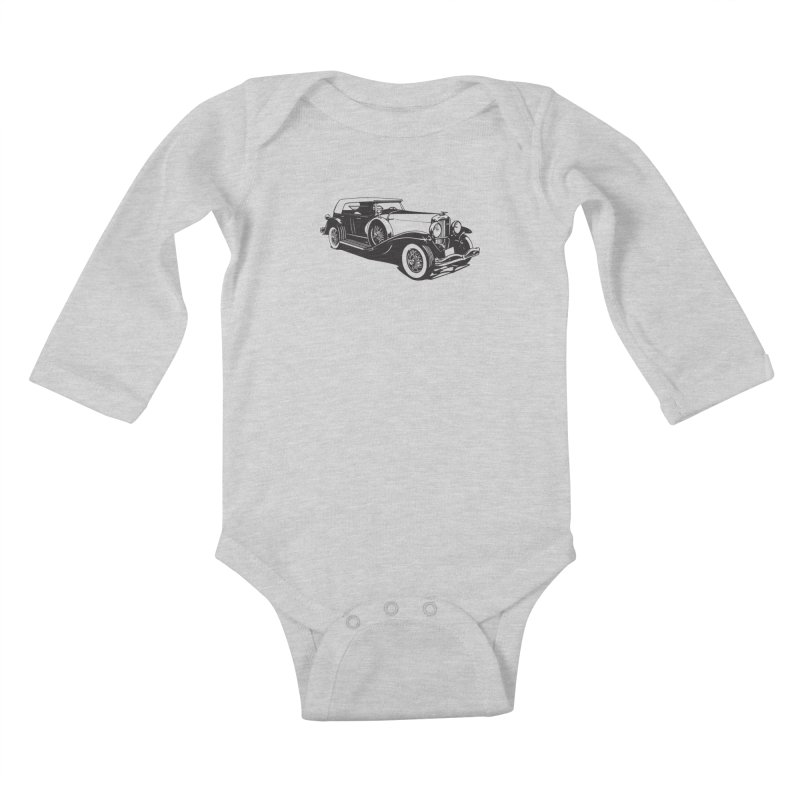 The Duesenberg Kids Baby Longsleeve Bodysuit by Midnight Studio