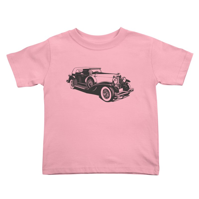 The Duesenberg Kids Toddler T-Shirt by Midnight Studio