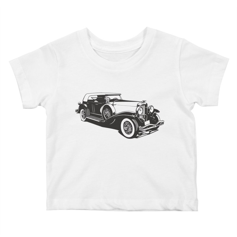 The Duesenberg Kids Baby T-Shirt by Midnight Studio