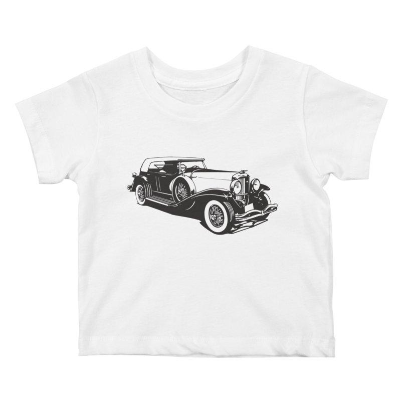The Duesenberg Kids Baby T-Shirt by Midnight Studio