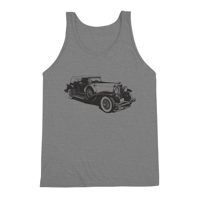 The Duesenberg Men's Triblend Tank by Midnight Studio