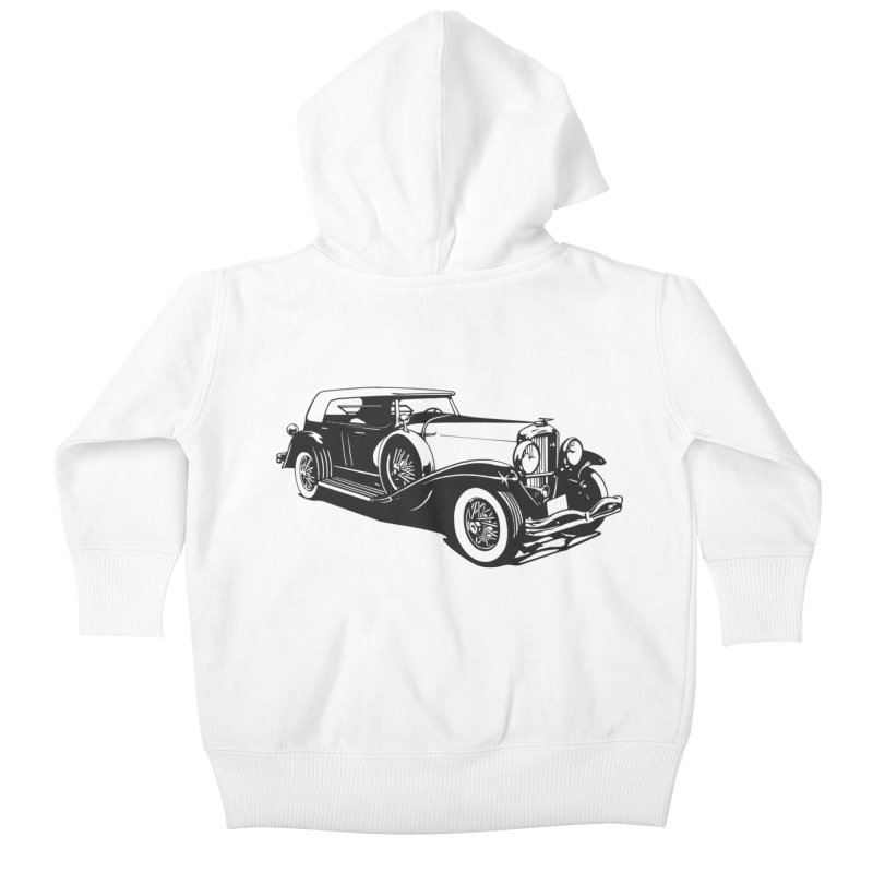 The Duesenberg Kids Baby Zip-Up Hoody by Midnight Studio