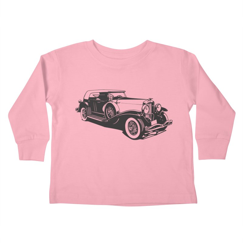 The Duesenberg Kids Toddler Longsleeve T-Shirt by Midnight Studio