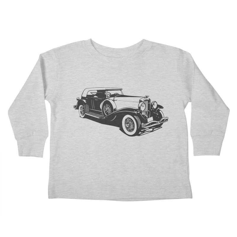 The Duesenberg Kids Toddler Longsleeve T-Shirt by Midnight Studio