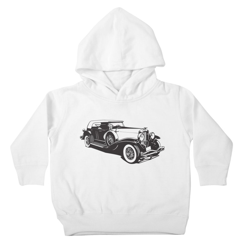 The Duesenberg Kids Toddler Pullover Hoody by Midnight Studio
