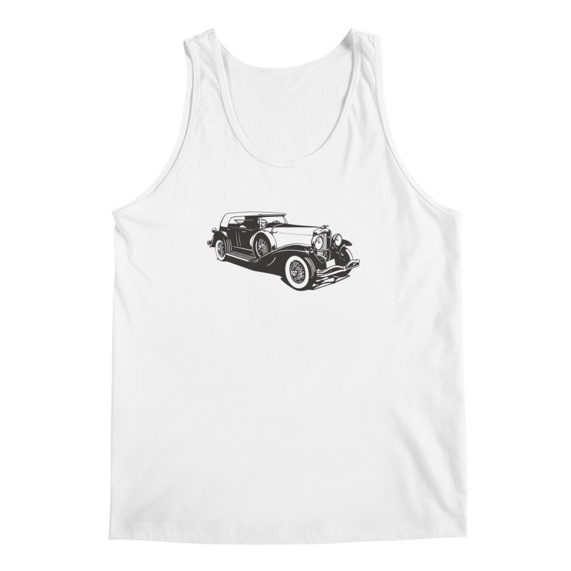 The Duesenberg Men's Regular Tank by Midnight Studio