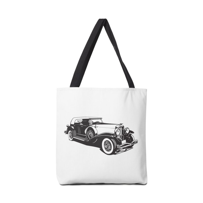 The Duesenberg Accessories Tote Bag Bag by Midnight Studio