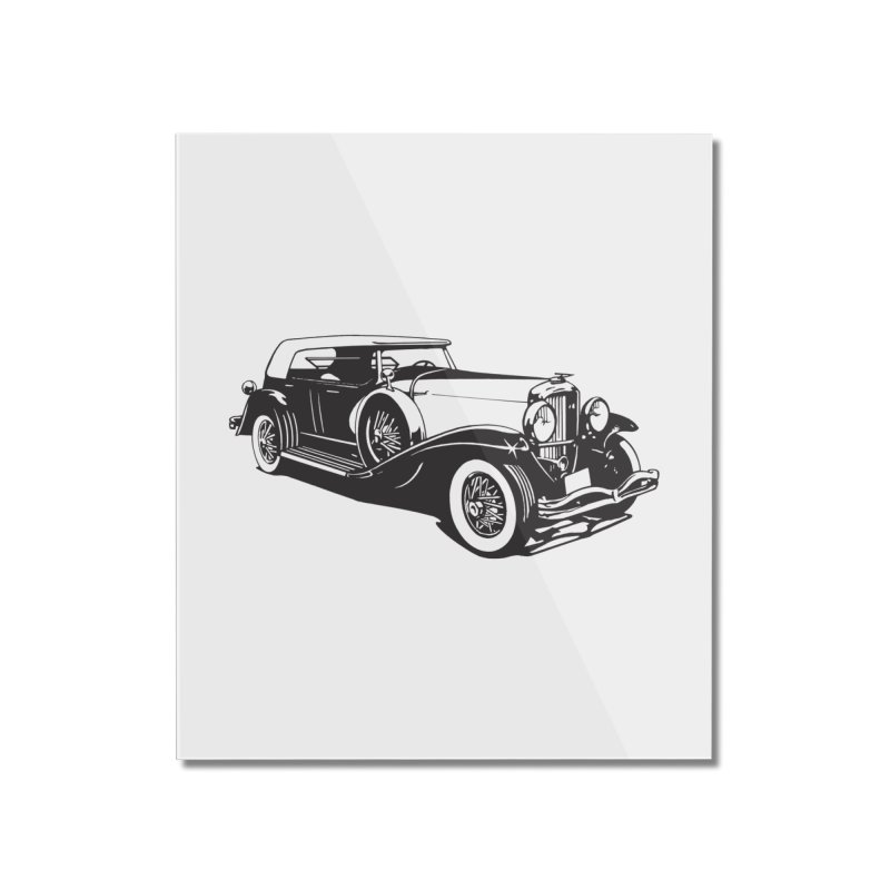 The Duesenberg Home Mounted Acrylic Print by Midnight Studio
