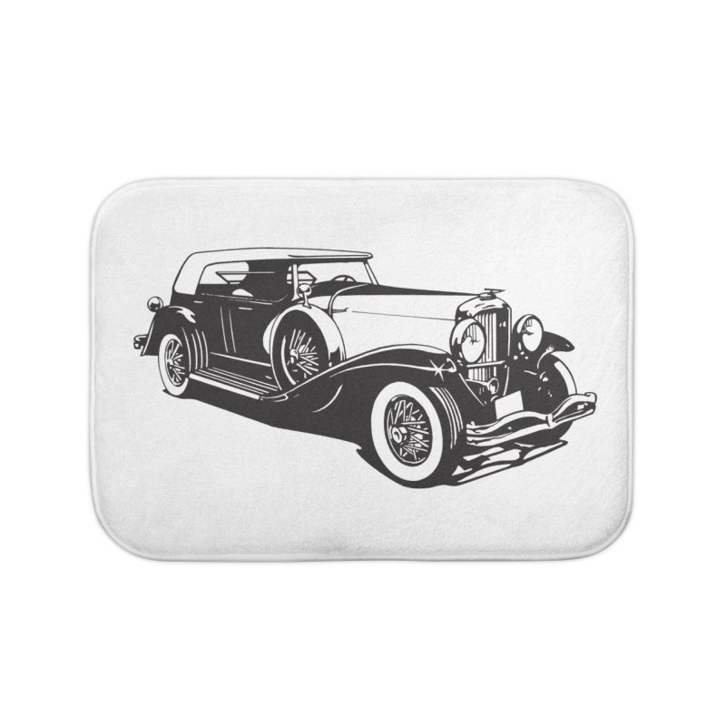 The Duesenberg Home Bath Mat by Midnight Studio
