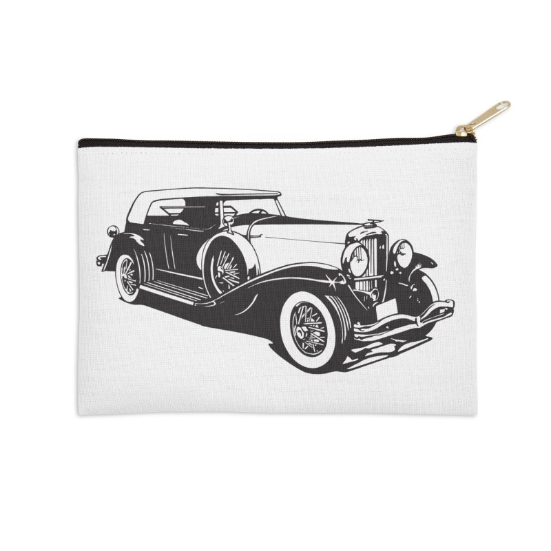 The Duesenberg Accessories Zip Pouch by Midnight Studio