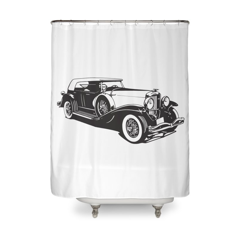 The Duesenberg Home Shower Curtain by Midnight Studio