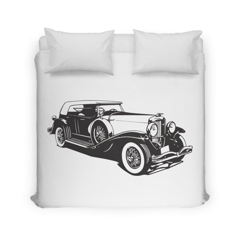 The Duesenberg Home Duvet by Midnight Studio