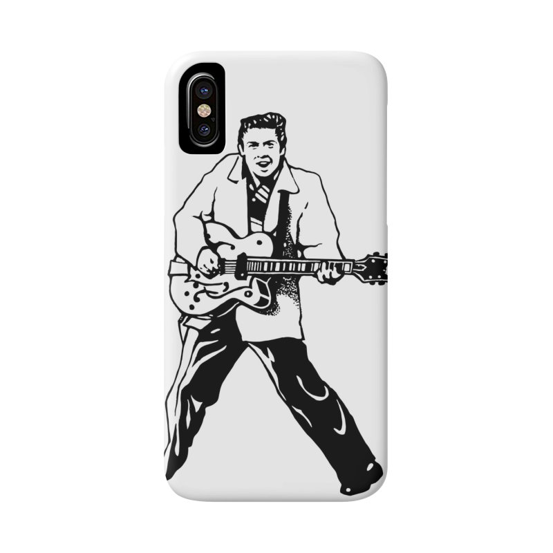 Eddie Cochran - Summertime Blues Edition Accessories Phone Case by Midnight Studio
