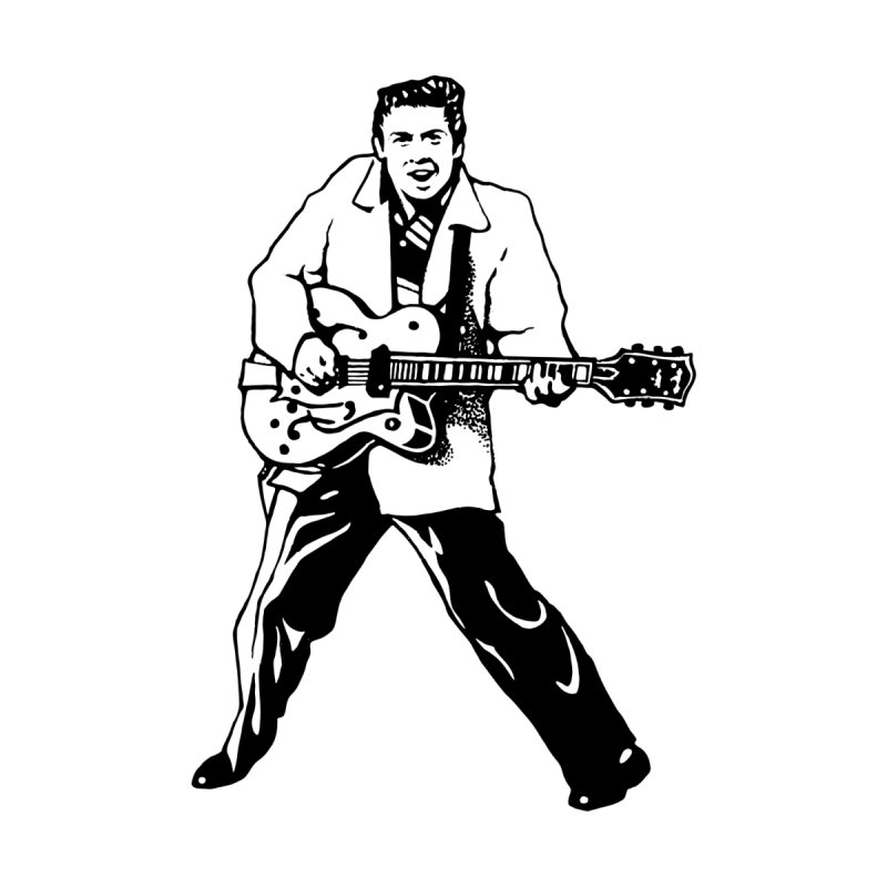 Eddie Cochran - Summertime Blues Edition Kids T-Shirt by Midnight Studio
