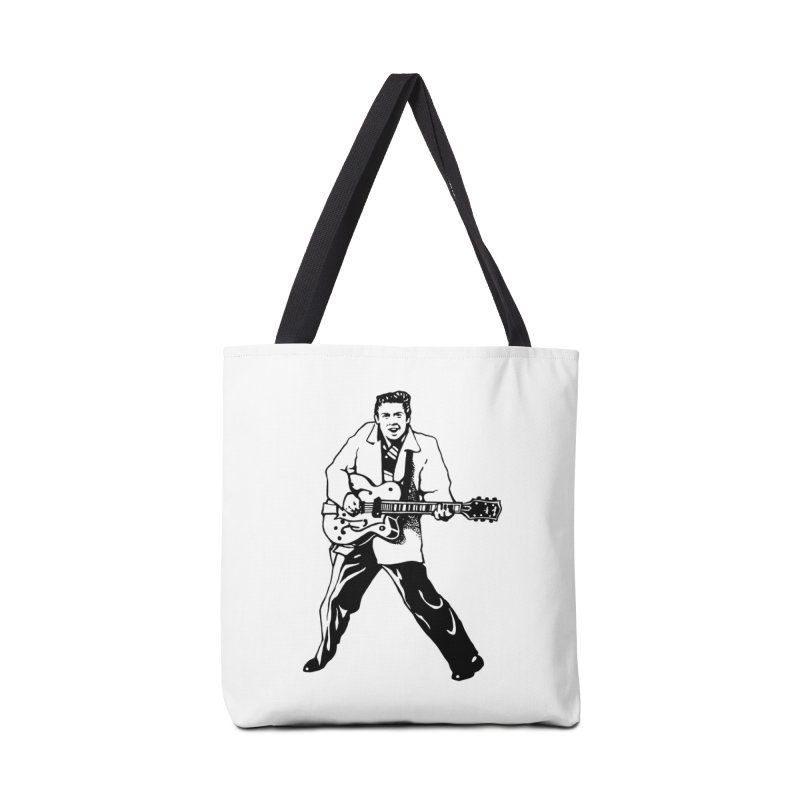 Eddie Cochran - Summertime Blues Edition Accessories Tote Bag Bag by Midnight Studio