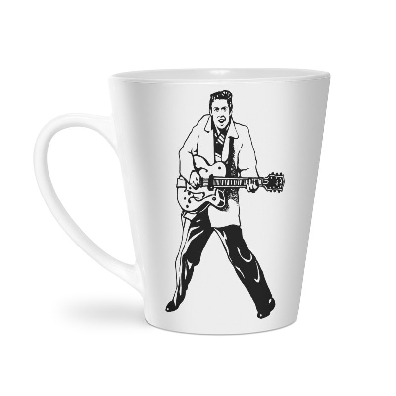 Eddie Cochran - Summertime Blues Edition Accessories Latte Mug by Midnight Studio