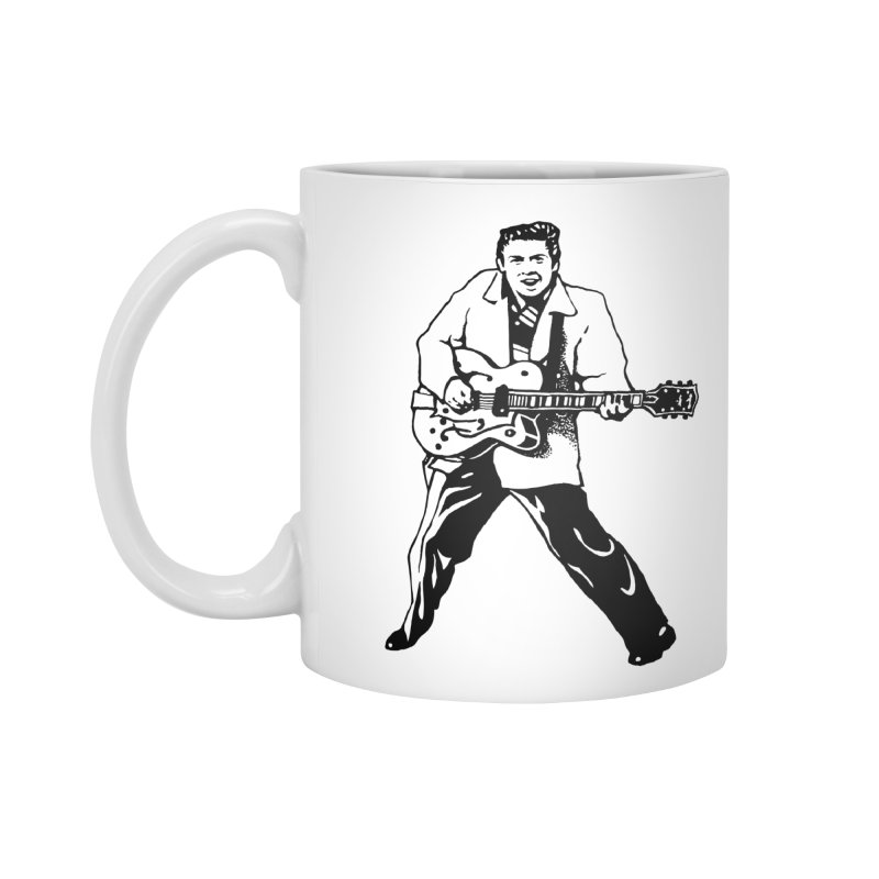 Eddie Cochran - Summertime Blues Edition Accessories Standard Mug by Midnight Studio