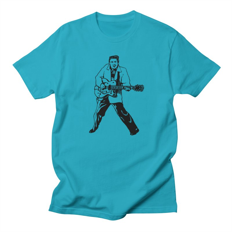 Eddie Cochran - Summertime Blues Edition Men's T-Shirt by Midnight Studio