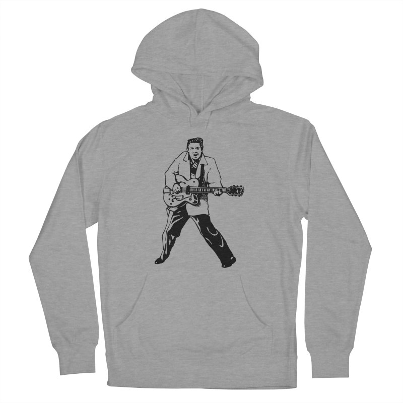 Eddie Cochran - Summertime Blues Edition Women's French Terry Pullover Hoody by Midnight Studio