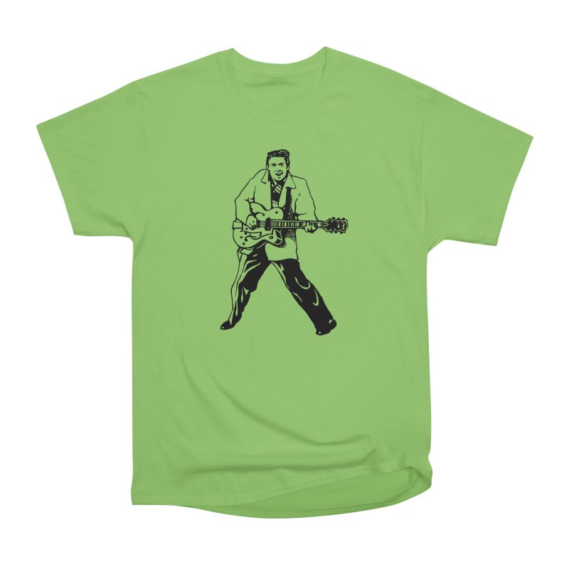 Eddie Cochran - Summertime Blues Edition Men's Heavyweight T-Shirt by Midnight Studio