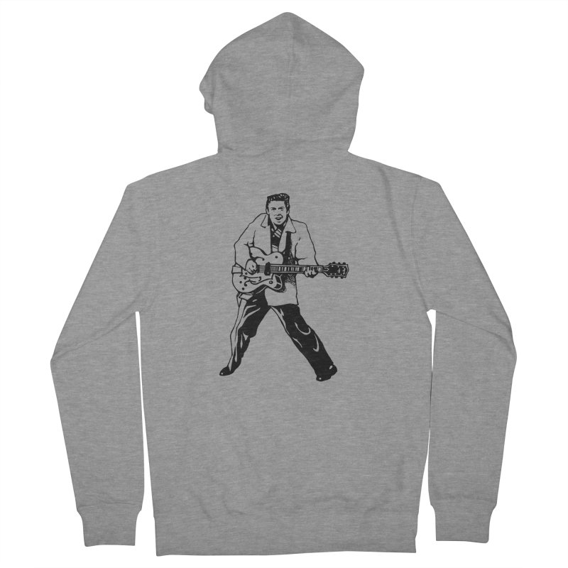 Eddie Cochran - Summertime Blues Edition Women's French Terry Zip-Up Hoody by Midnight Studio