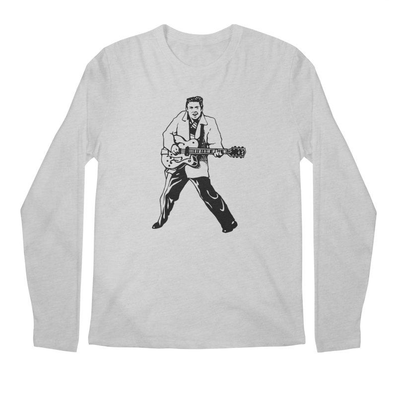 Eddie Cochran - Summertime Blues Edition Men's Regular Longsleeve T-Shirt by Midnight Studio