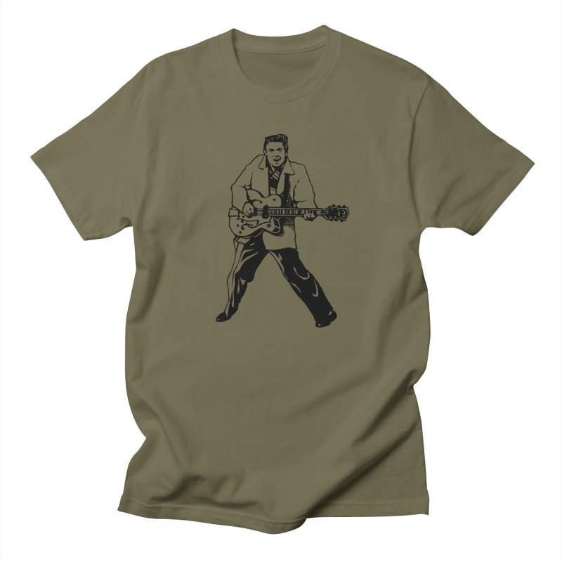 Eddie Cochran - Summertime Blues Edition Women's Regular Unisex T-Shirt by Midnight Studio