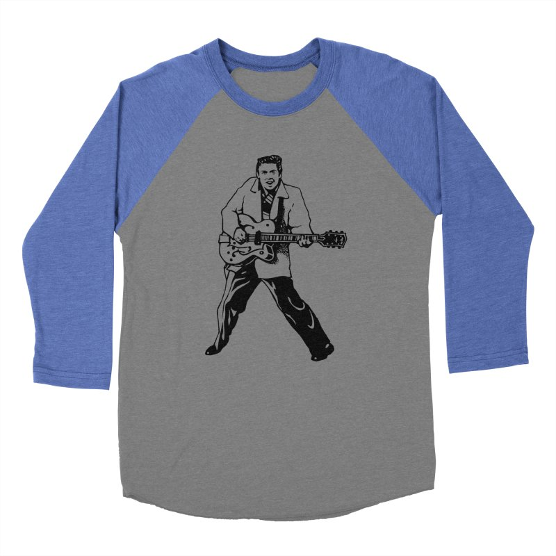 Eddie Cochran - Summertime Blues Edition Women's Baseball Triblend T-Shirt by Midnight Studio