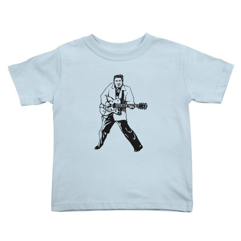 Eddie Cochran - Summertime Blues Edition Kids Toddler T-Shirt by Midnight Studio