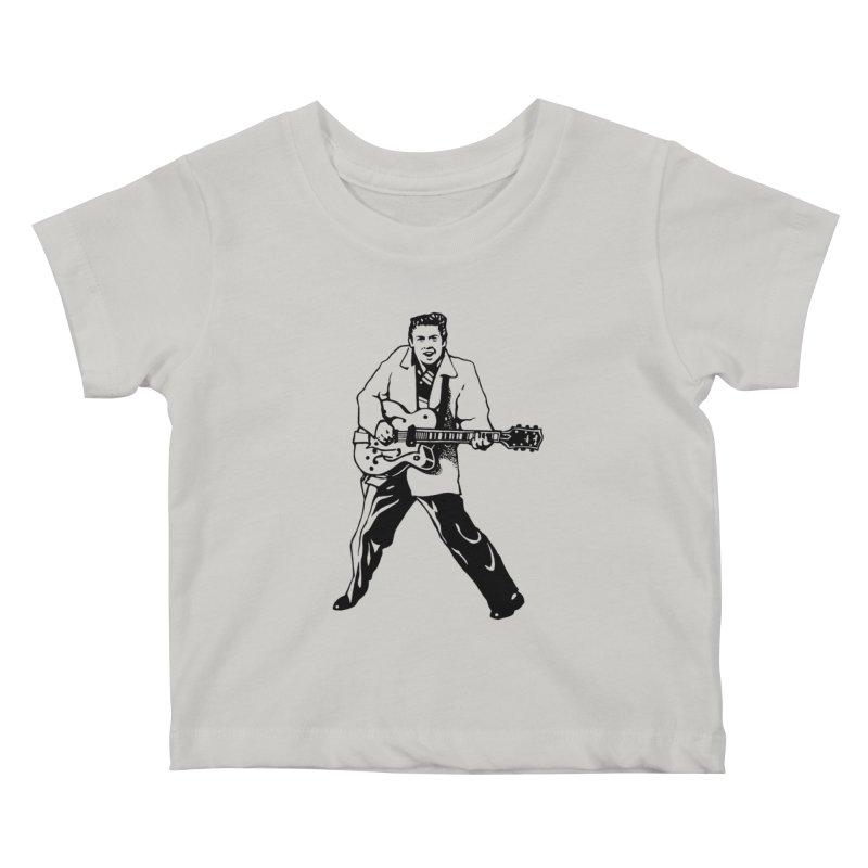 Eddie Cochran - Summertime Blues Edition Kids Baby T-Shirt by Midnight Studio