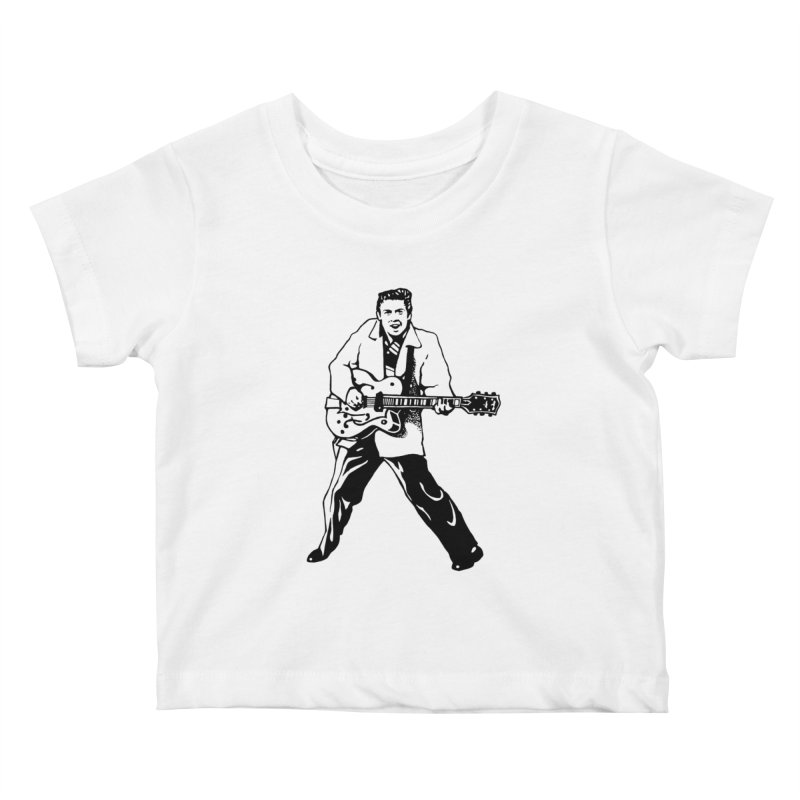 Eddie Cochran - Summertime Blues Edition Kids Baby T-Shirt by Midnight Studio