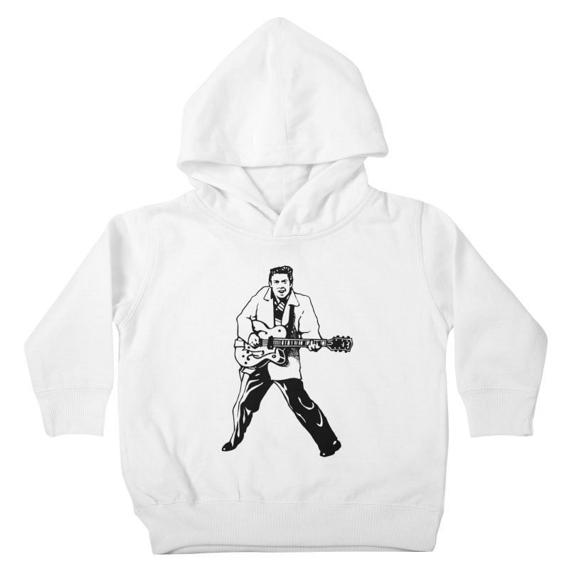 Eddie Cochran - Summertime Blues Edition Kids Toddler Pullover Hoody by Midnight Studio