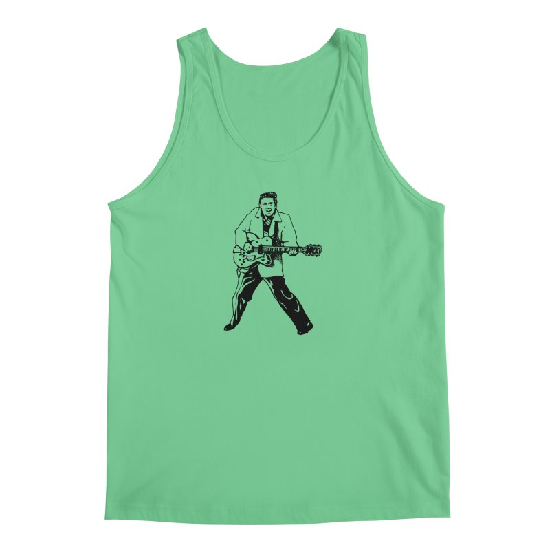 Eddie Cochran - Summertime Blues Edition Men's Tank by Midnight Studio