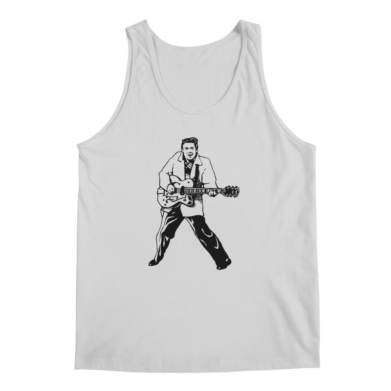 Eddie Cochran - Summertime Blues Edition Men's Regular Tank by Midnight Studio