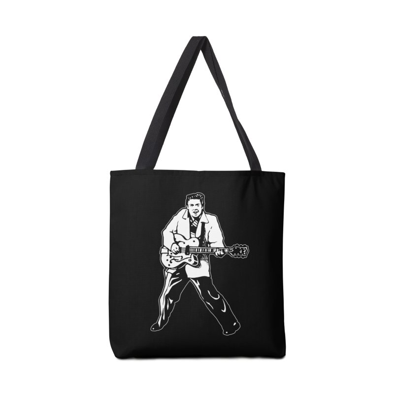 Eddie Cochran - Black Edition Accessories Bag by Midnight Studio