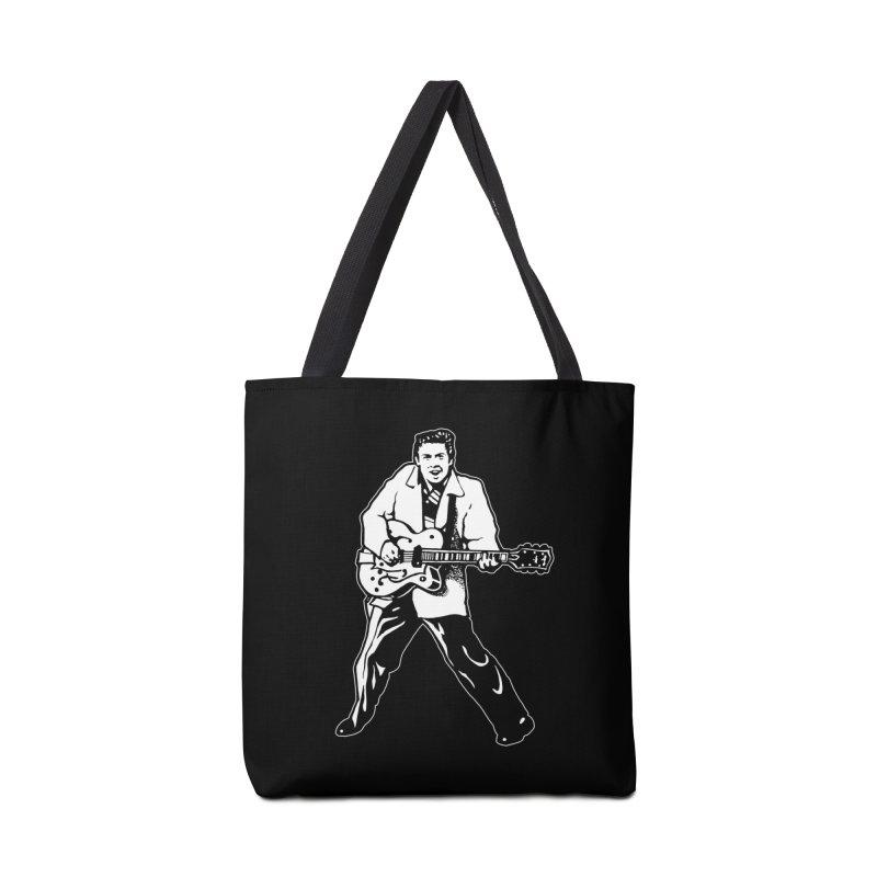 Eddie Cochran - Black Edition Accessories Bag by Midnight Studio
