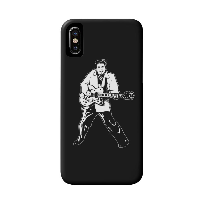Eddie Cochran - Black Edition Accessories Phone Case by Midnight Studio