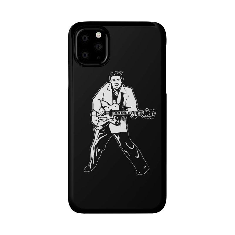 Eddie Cochran - Black Edition Accessories Phone Case by Midnight Studio
