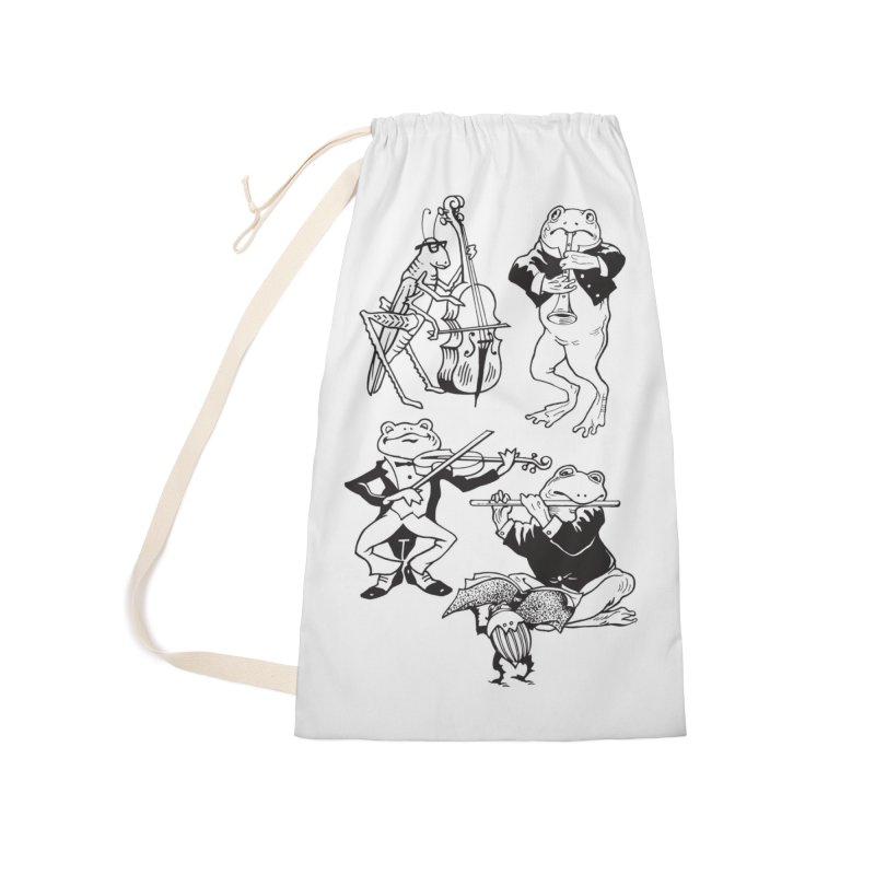 Spring Quartet Accessories Laundry Bag Bag by Midnight Studio