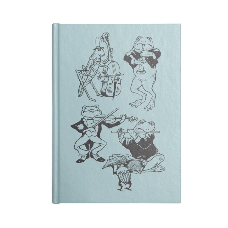 Spring Quartet Accessories Notebook by Midnight Studio
