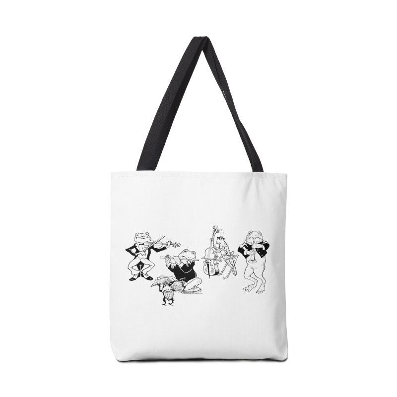 Spring Quartet Accessories Tote Bag Bag by Midnight Studio
