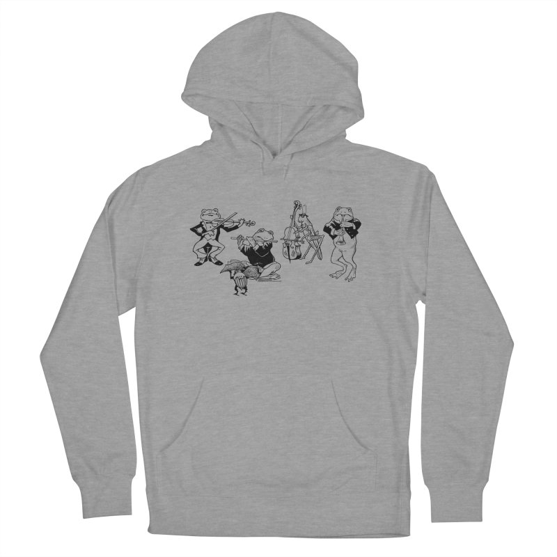 Spring Quartet Women's French Terry Pullover Hoody by Midnight Studio