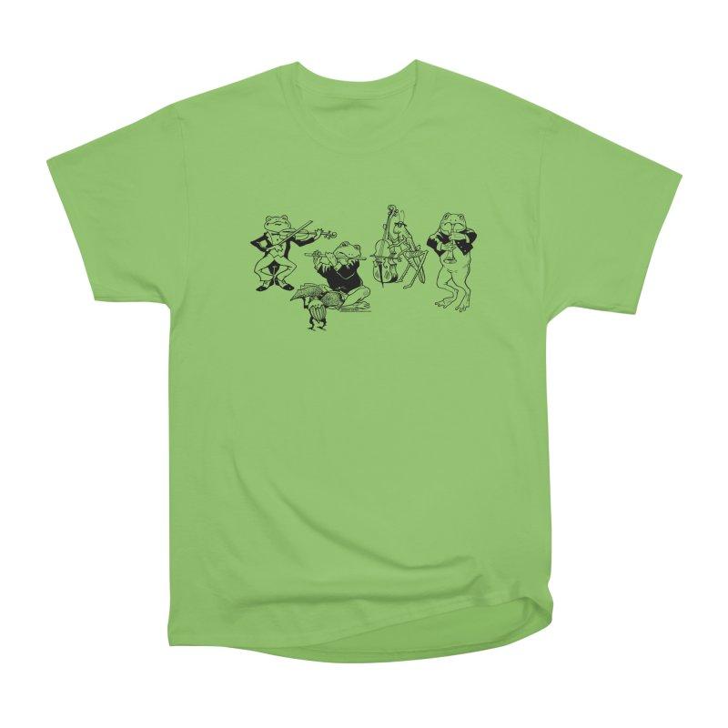 Spring Quartet Men's Heavyweight T-Shirt by Midnight Studio