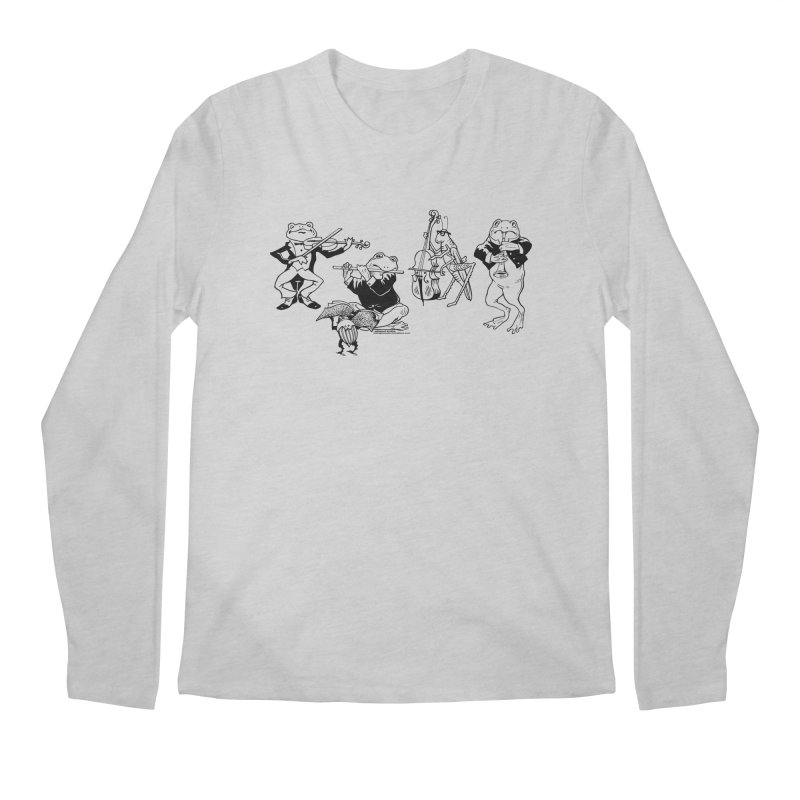 Spring Quartet Men's Regular Longsleeve T-Shirt by Midnight Studio