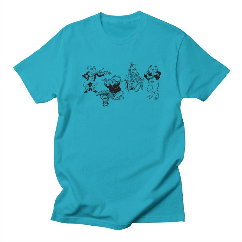 Spring Quartet Women's Regular Unisex T-Shirt by Midnight Studio