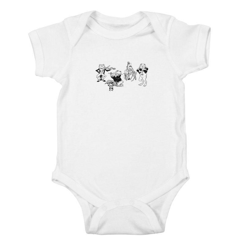 Spring Quartet Kids Baby Bodysuit by Midnight Studio